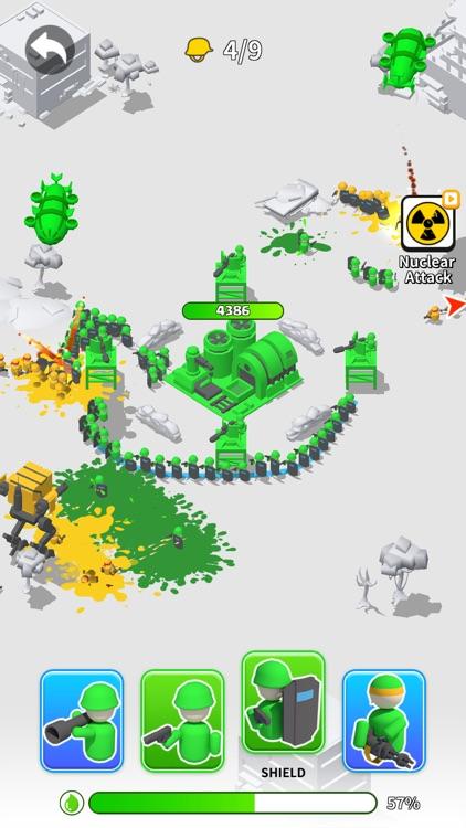 Toy Army: Draw Defense screenshot-0