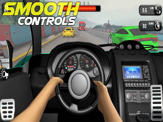 Car X Traffic Tour Uphill Pro на iPad