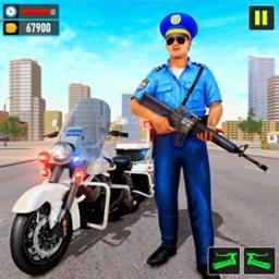 US Police Bike Crime Gangster