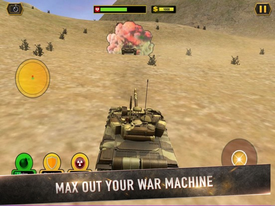 Real Battle Blitz: Tank 3D War screenshot 5
