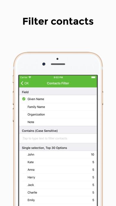 連絡先のエクスポート - 簡単なバックアップ ScreenShot3