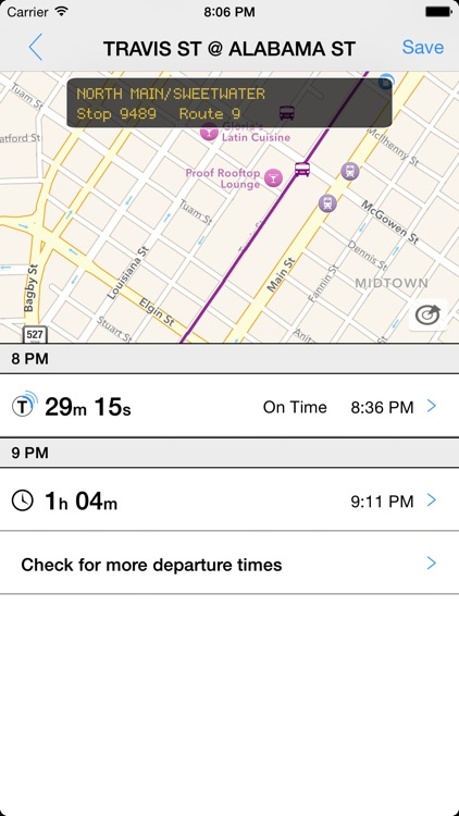 Transit Tracker - Houston