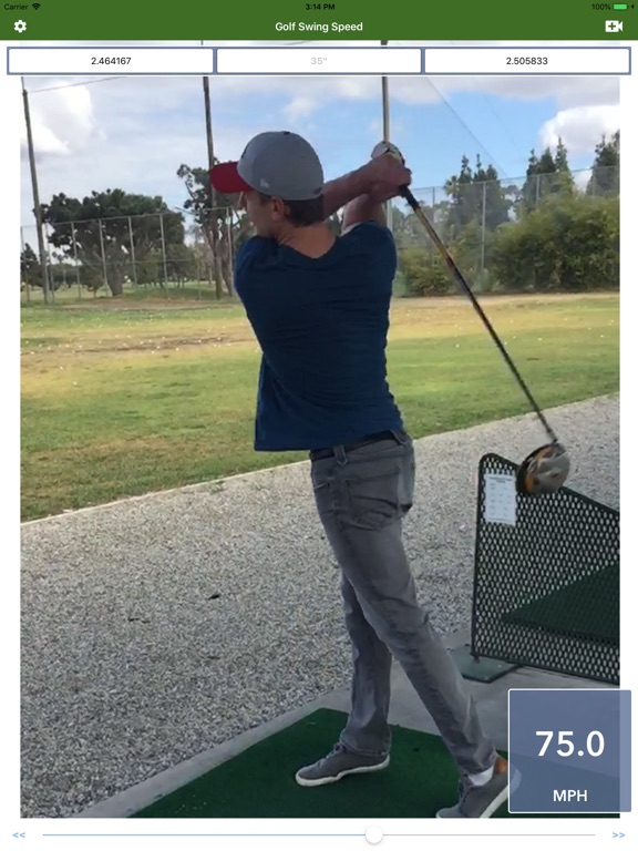 Golf Swing Speed Analyzer screenshot 6
