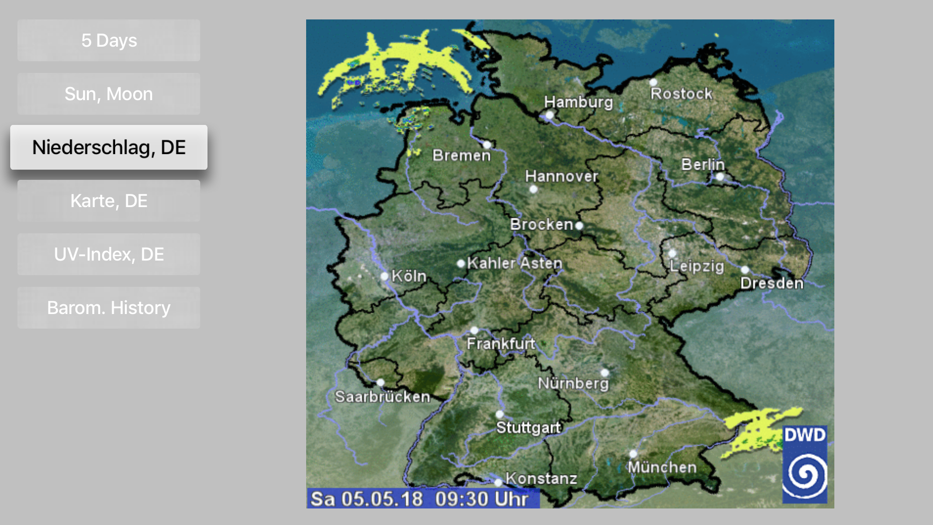 LCD Weather Barometer screenshot 5