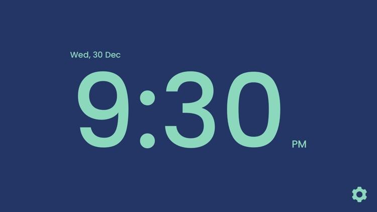 Digital Clock: Big LED Alarm