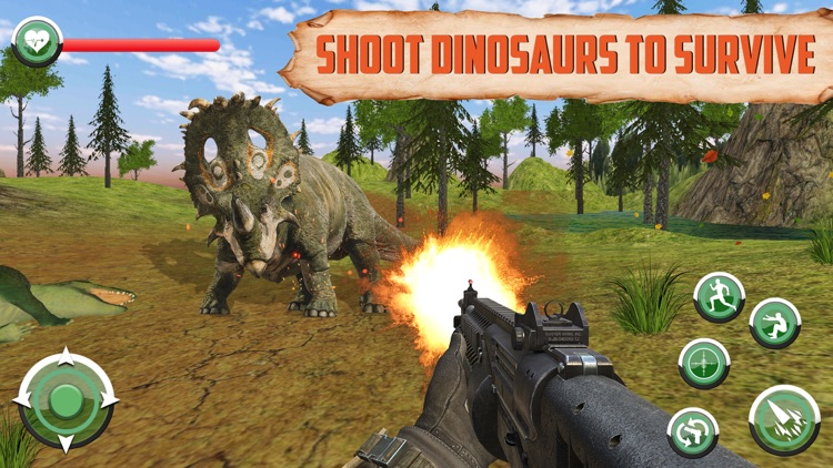 Jurassic Dinosaur Jungle Hunt screenshot-3