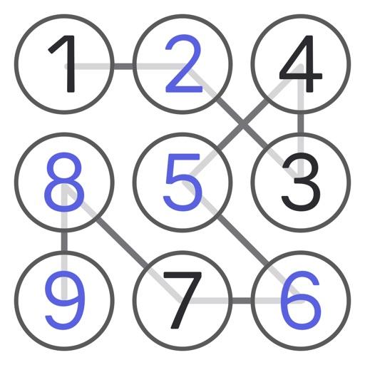 ナンバーチェーン - 数字の接続 ロジック パズル ゲーム