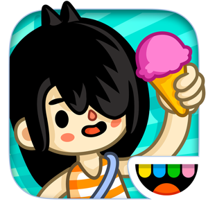 Toca Life: Vacation app
