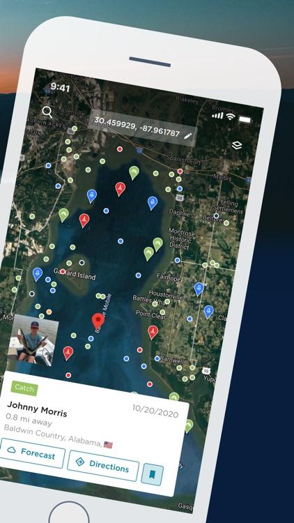 FishAngler - Fishing Spots App