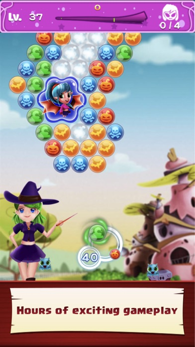 Image of WitchLand-Magic Bubble Shooter for iPhone