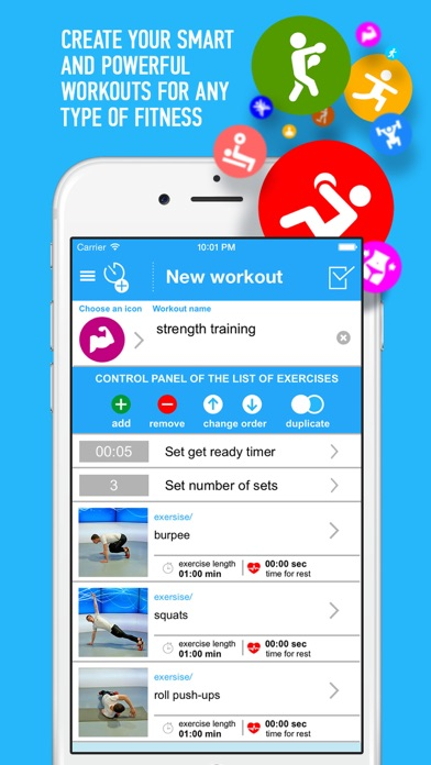 TimeXFit - fitness assistant Screenshots