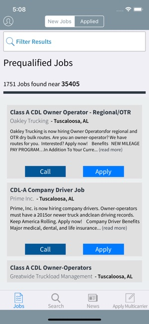 Truck Driving Jobs on the App Store