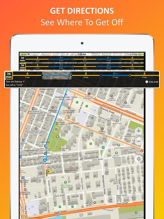 New York City - offline map Screenshots