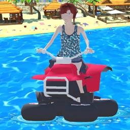 Water Bike 3D Racing Stunts