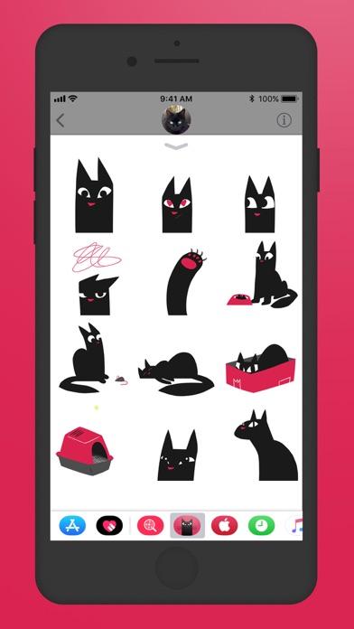 Maus Cat Stickers screenshot three