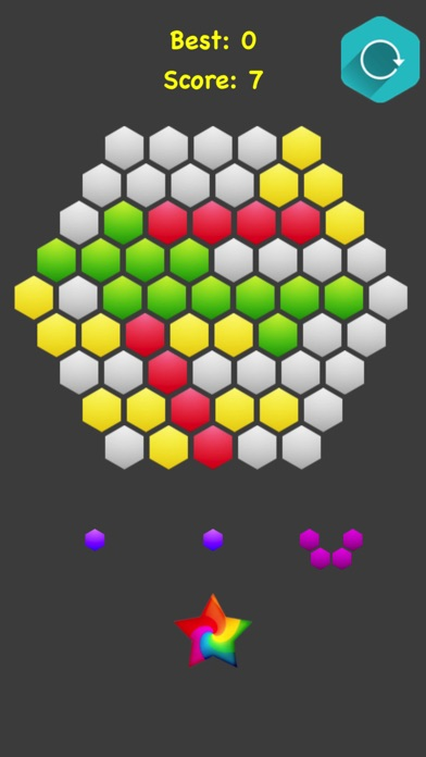 Hexagonal Merge.. screenshot 5
