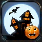Spooky House ® Halloween burst icon