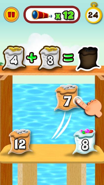 Math Land: Arithmetic games screenshot-0