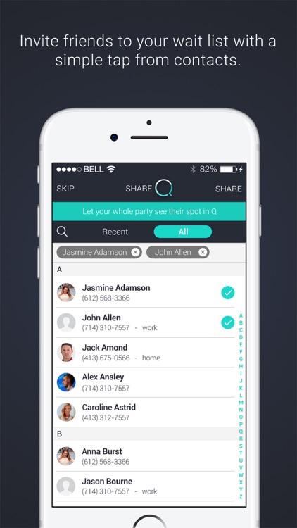 Q Waitlist Guest App screenshot-3