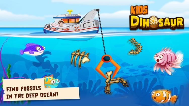 Kids Dinosaur toddler Games screenshot-4