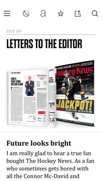 The Hockey News Screenshot