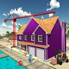 Beach House Construction Sim icon