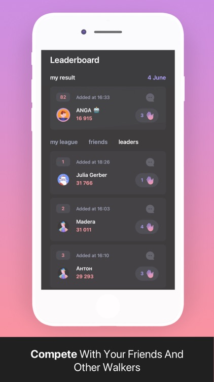 walker: Pedometer & Activity screenshot-6