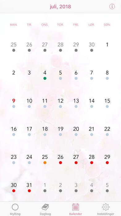 Screenshot for MyRing - præventionsring in Denmark App Store