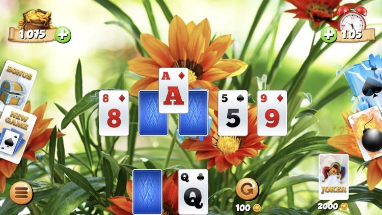 Tri Peaks Solitaire Card Games screenshot-5