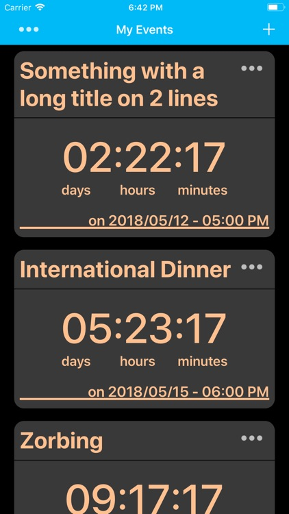 My Events - Countdown screenshot-3