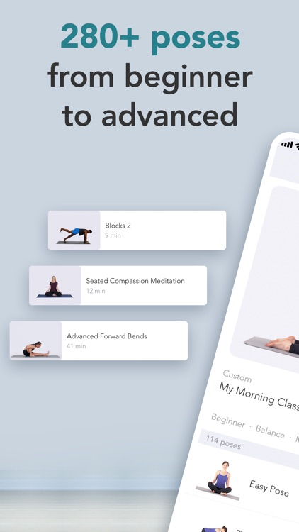 Yoga Studio: At-home classes screenshot-3