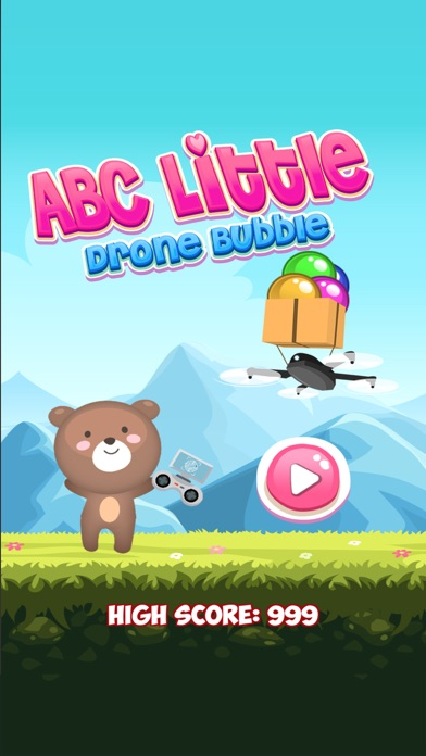 ABC Little Drone Bubble Screenshot 1