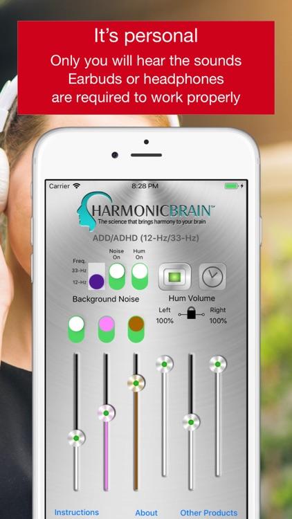 HarmonicBrain ADD/ADHD screenshot-7