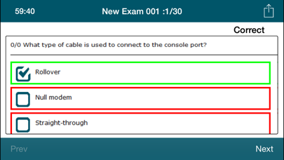 CCNA 100-101 ICND1 Exam Online screenshot four
