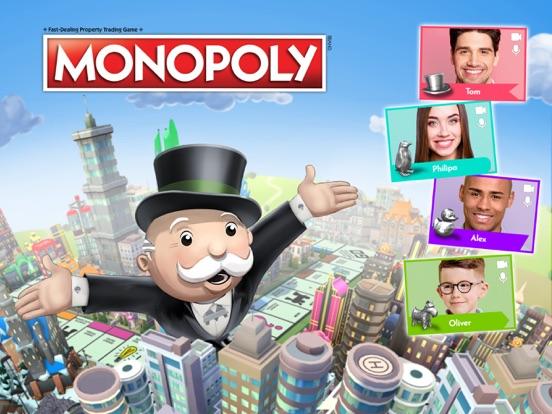 Monopoly iPad app afbeelding 1