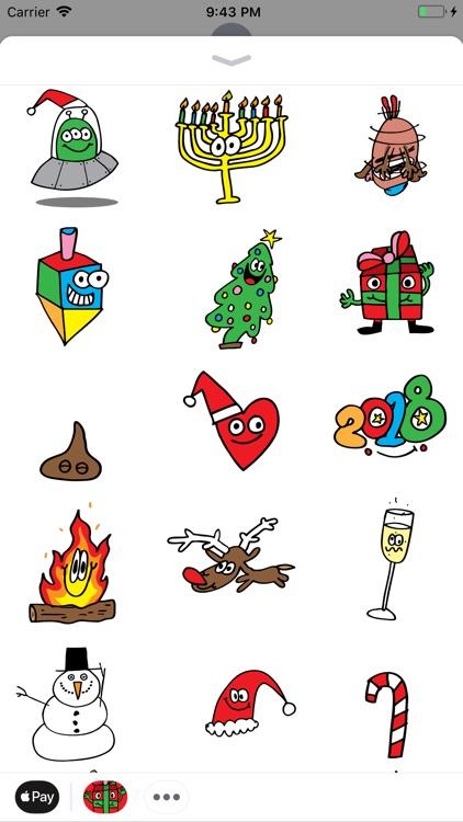 Holidaze Animated Sticker