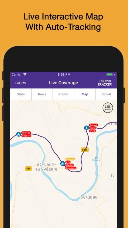 Tour Tracker • La Vuelta 2018 screenshot-3