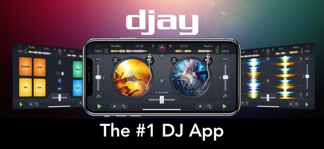 djay 2 for iPhone Screenshot