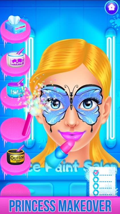 Ice Princess Face Paint Salon screenshot-8