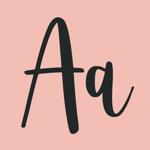 Fonts Art - Шрифты для айфона на пк