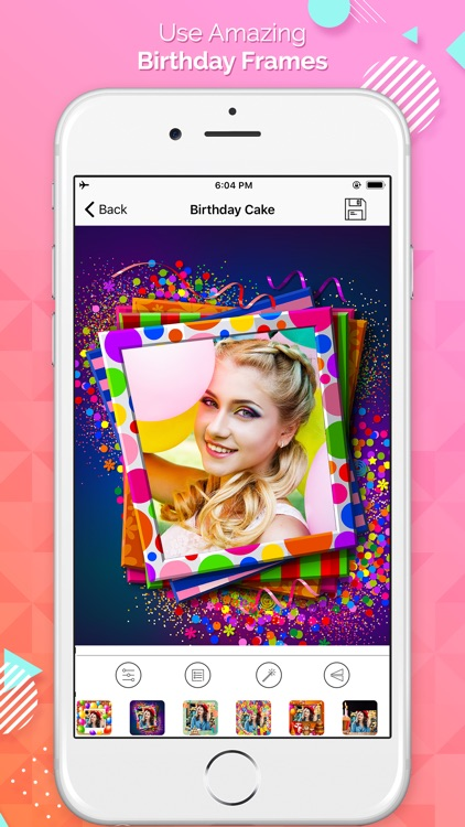 Birthday Cake Photo Frames By Himanshu Yadav