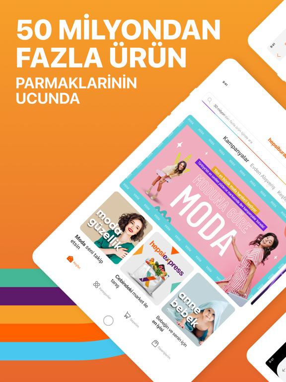 Hepsiburada: Online Alışveriş ipad ekran görüntüleri