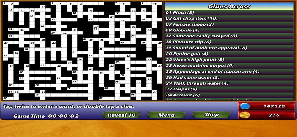 Crossword HD – Multiplayer Cheat Codes