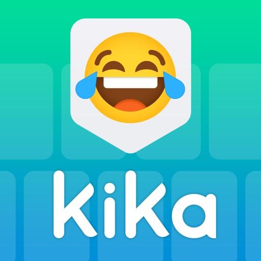 Kika Keyboard for iPhone, iPad icon