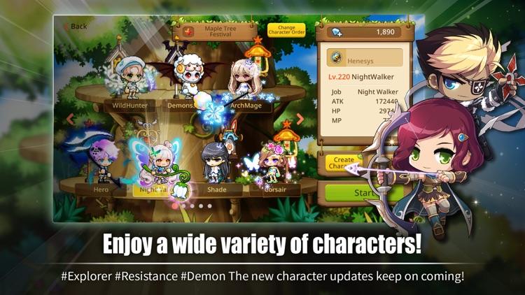 MapleStory M: Fantasy MMORPG screenshot-3