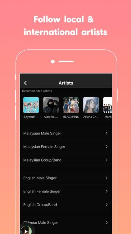 JOOX Music screenshot-6