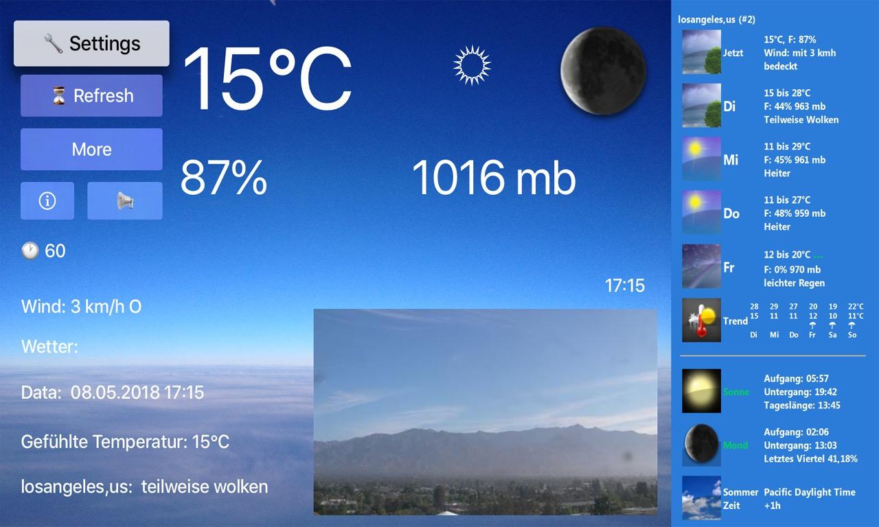 TV Weather & Webcams