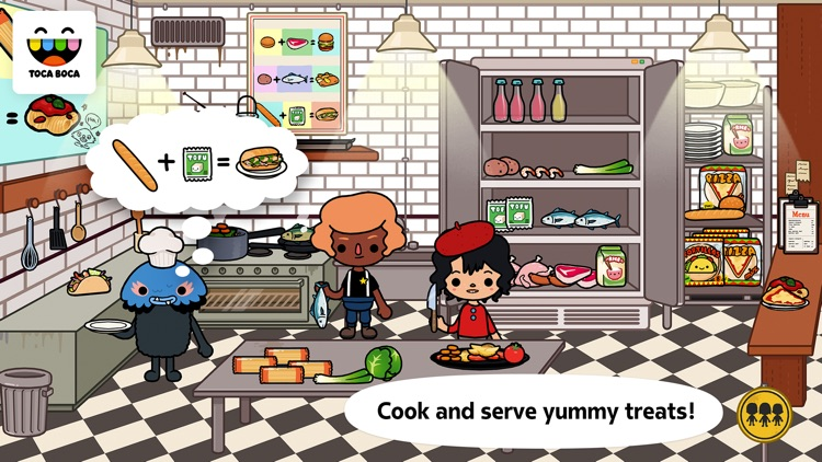 Toca Life: Town screenshot-3