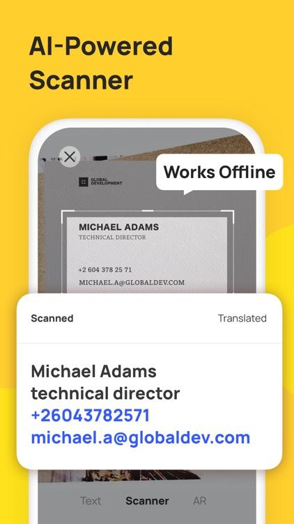 AR Translator: Translate Photo