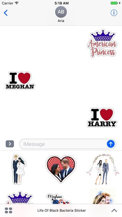 When Harry Met Meghan Sticker screenshot 1